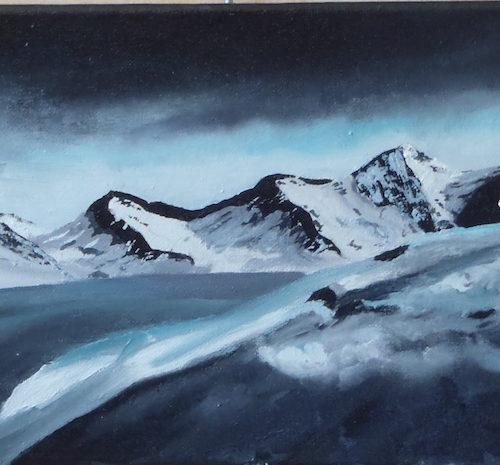 Montagnes la nuit